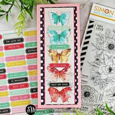 Simon Says Stamp Friendly Flowers Card Kit