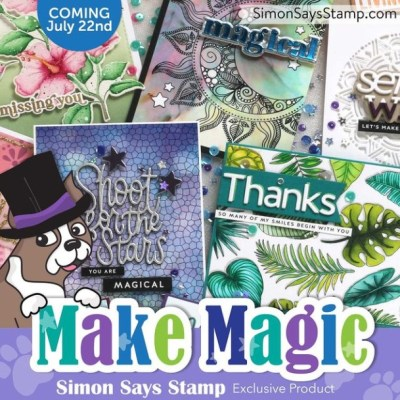 handmade greeting cards with cardmaking products from Simon Says Stamp