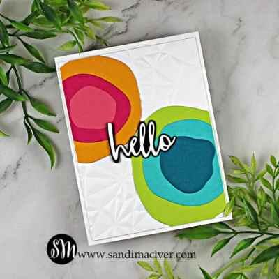 Paper Layering Circles Card