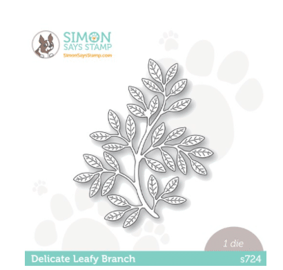 new leafy branch die for card making and paper crafting from Simon Says Stamp