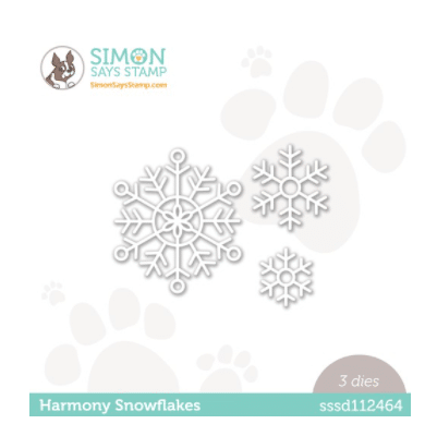 snowflake dies used for card making and paper crafting from Simon Says Stamp.