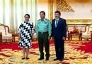 Menlu Retno Temui Panglima AB Myanmar, Minta Kekerasan Segera Dihentikan