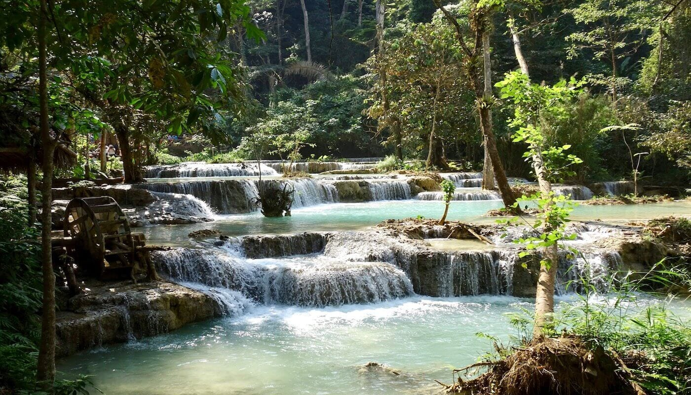 What to expect from Kuang Si Waterfall, Luang Prabang, Laos