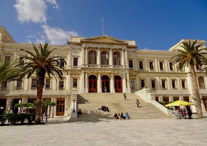 Syros Town hall, Greece