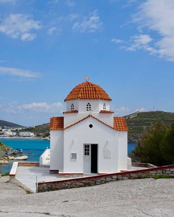 Church in Syros, Greek photo tour