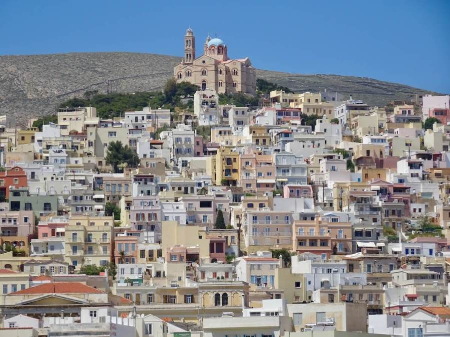 Ermoupolis, Syros Greek photo tour