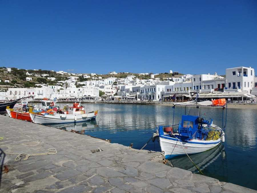 Mykonos landscape, Greek photo tour