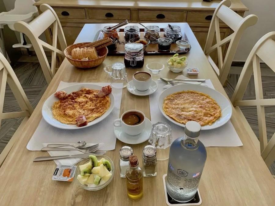 Adonis Hotel Breakfast