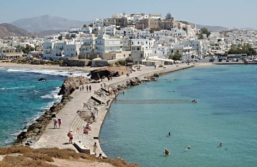 Naxos landscape, Things to do in Paros, Greece