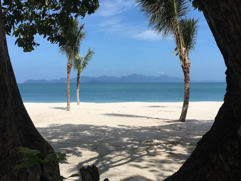 Langkawi beach. Must see on your Langkawi itinerary