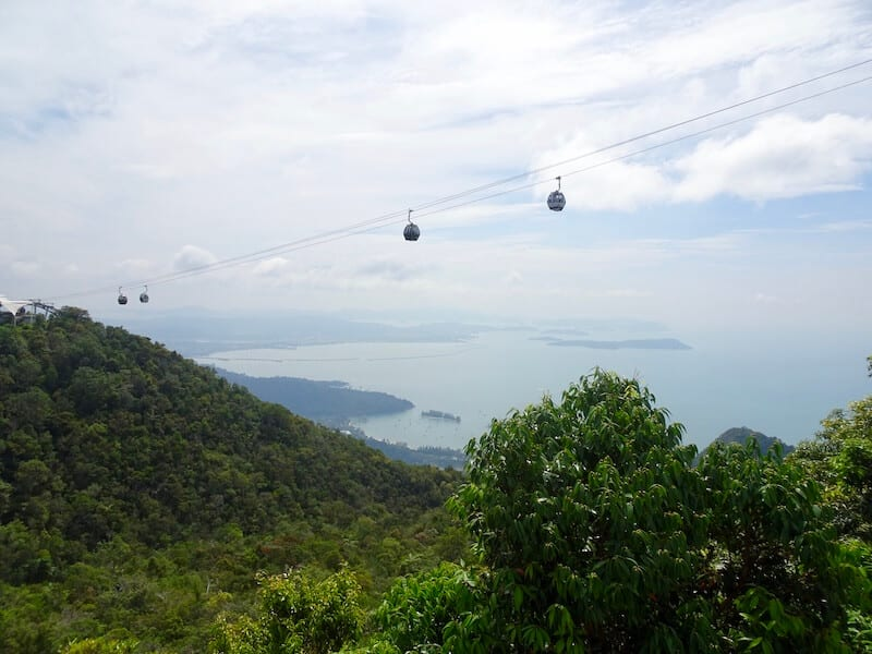 Skycab cable car, a Langkawi Itinerary must