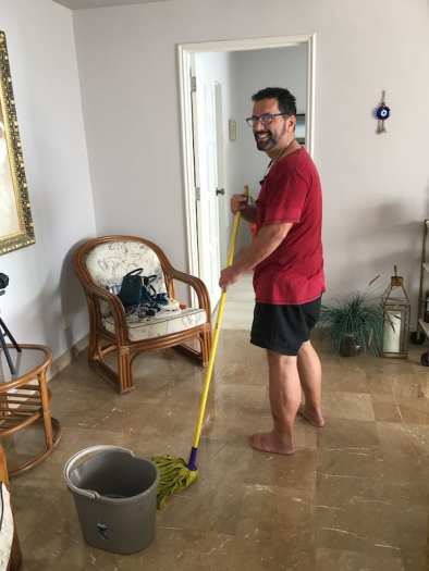 Mark mopping