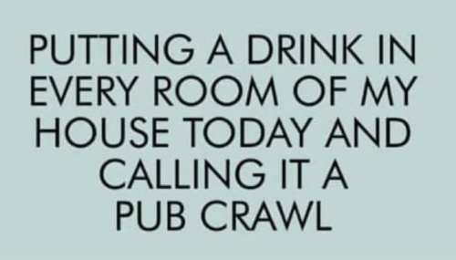 pub crawl during covid