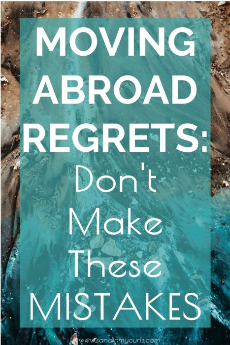 moving abroad regrets