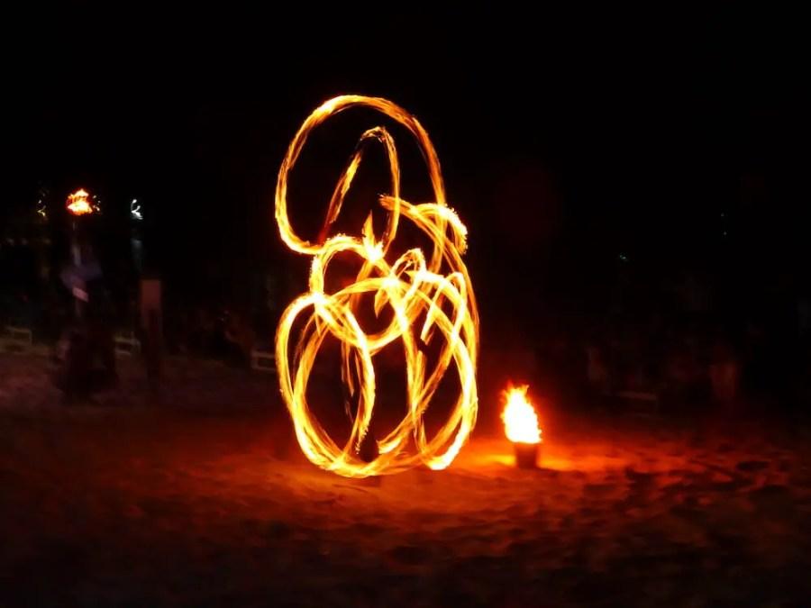 fire show perhentian kecil