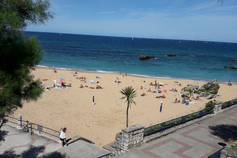 Beachview in Spain.