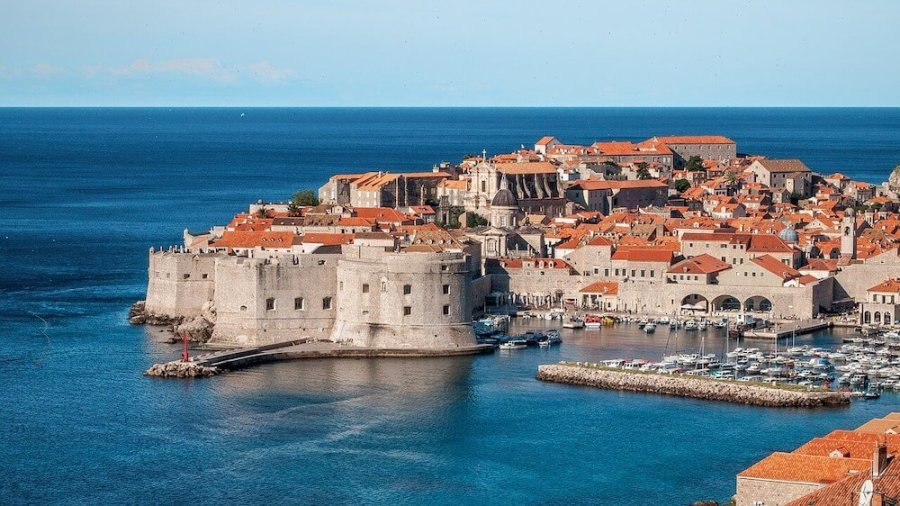 Walled city of Dubrovnik: Easiest countries for Americans to move