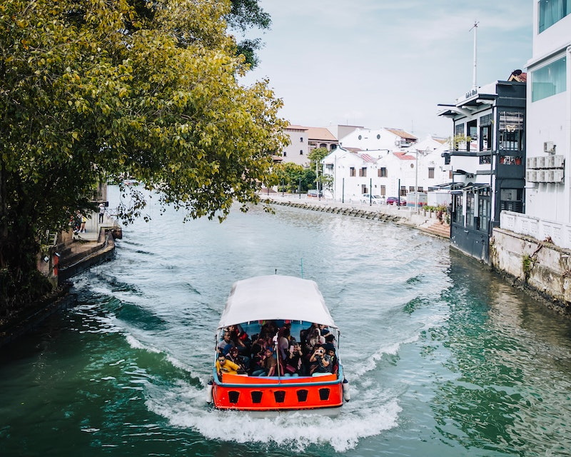 River trip in Malacca, Malaysia for expats