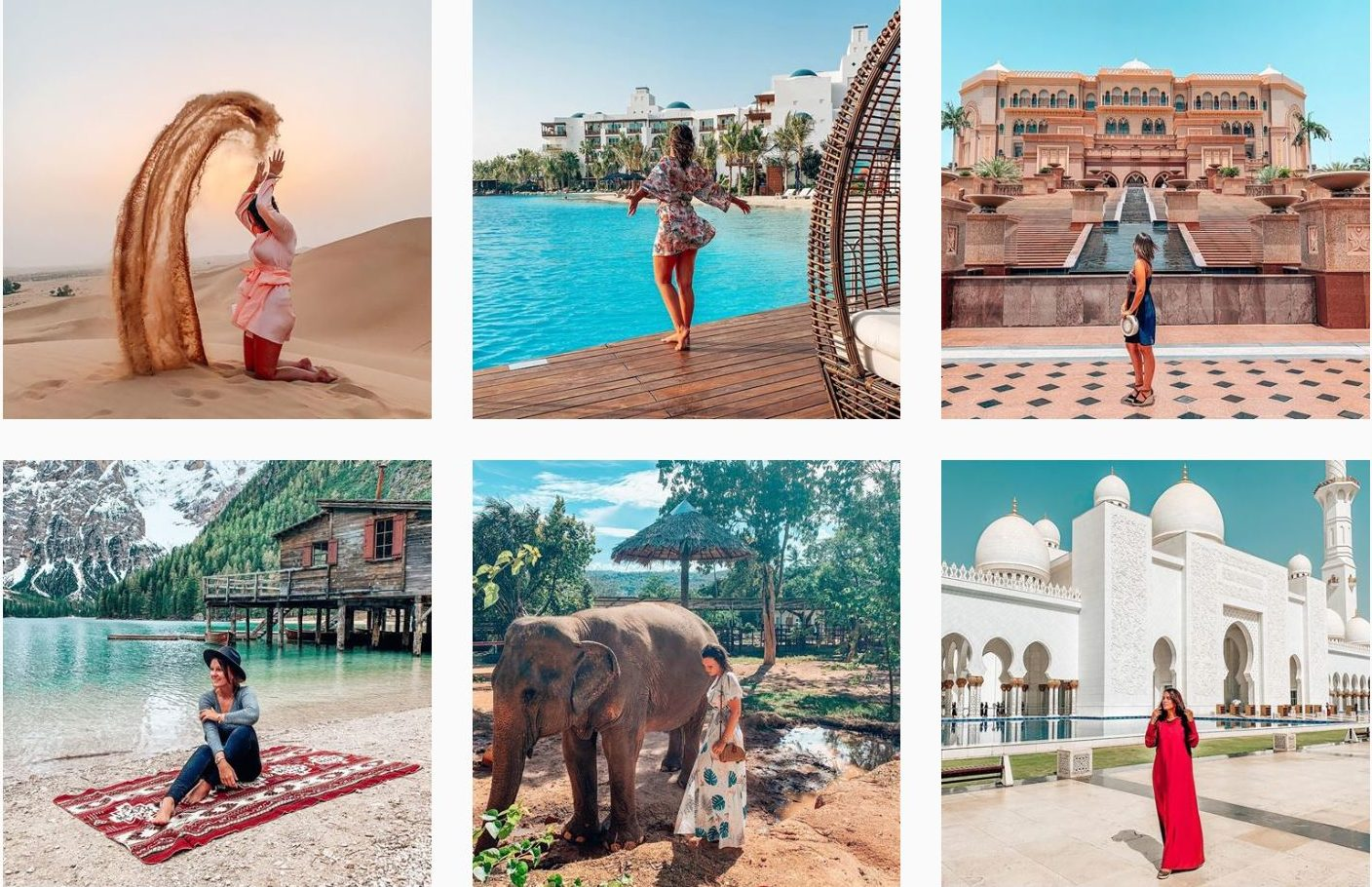 Instagram Feed travel blogger tips