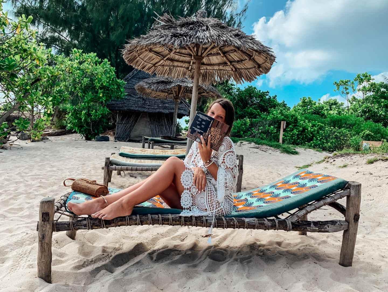 Chumbe island zanzibar beach