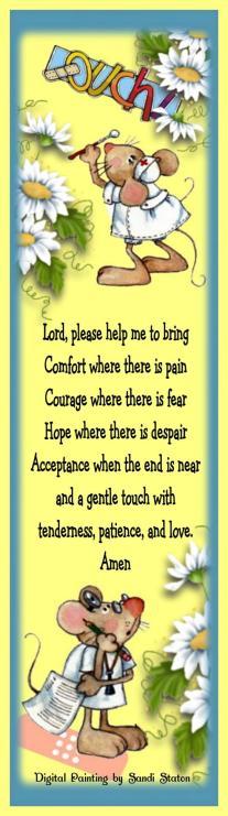 Nurses Prayer Mice