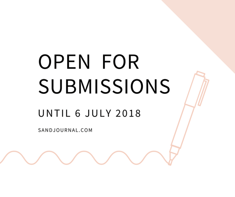 Open for SubmissionsUntil 6 July 2018
