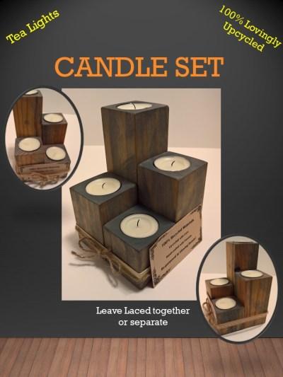 Quad Candle Set