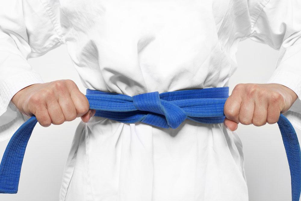 Blauer Gürtel