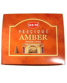 CONES PRECIOUS AMBER