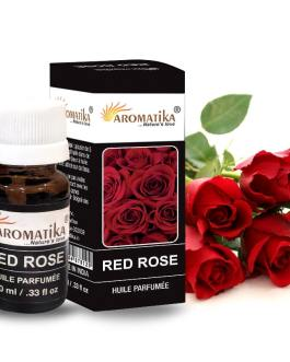 HUILE AROMATIKA PARFUMEE 10ml –  RED ROSE (Rose rouge)