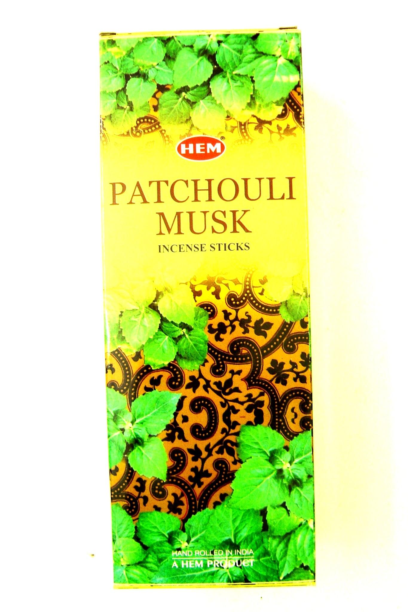 PATCHOULI MUSK  (Patchouli-Musc)