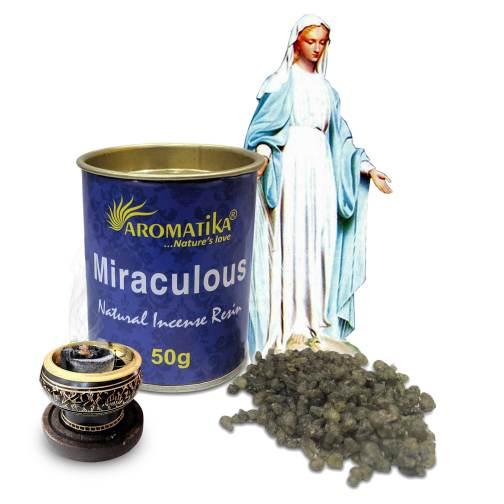 AROMATIKA ENCENS RESINE NATURELLE MIRACULOUS (Vierge Miraculeuse)