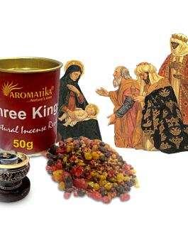 .AROMATIKA RESINE NATURELLE THREE KINGS (Les 3 Rois Mages) 50g