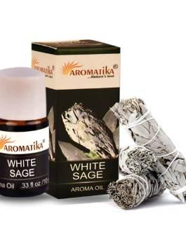 HUILE AROMATIKA PARFUMEE 10ml – WHITE SAGE (Sauge blanche)