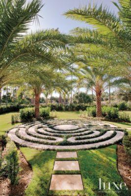 Stone Garden Labyrinth Luxe Interiors Design