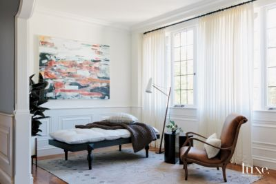 The Interior Designer  Brittany Haines   Features   Design Insight     A balanced color palette and artful statement pieces are key components of  this room completed by Haines