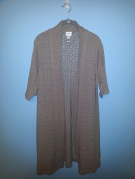 chicos long cardigan/duster