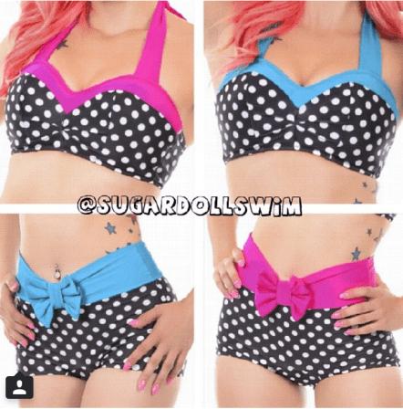 sugardoll swim pinup inspired swimsuit...heck yeah