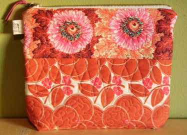 Large cosmetic bag/pouch $28
