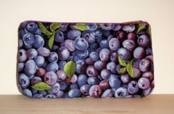 Back of blueberry pouch