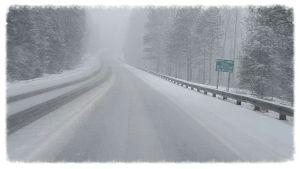 Naples Hwy 95 snow storm