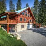 North Idaho Log Home