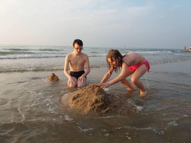 louis en anna aan zee2