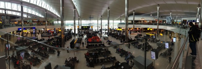 Terminal two in all its glory