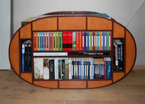 Schommelboekenkast