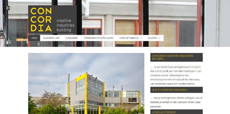 Website voor Concordiastraat 68