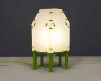 Nieuwe versie van het lampje met perspex