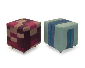 Poeven of hockers met meerdere kleuren