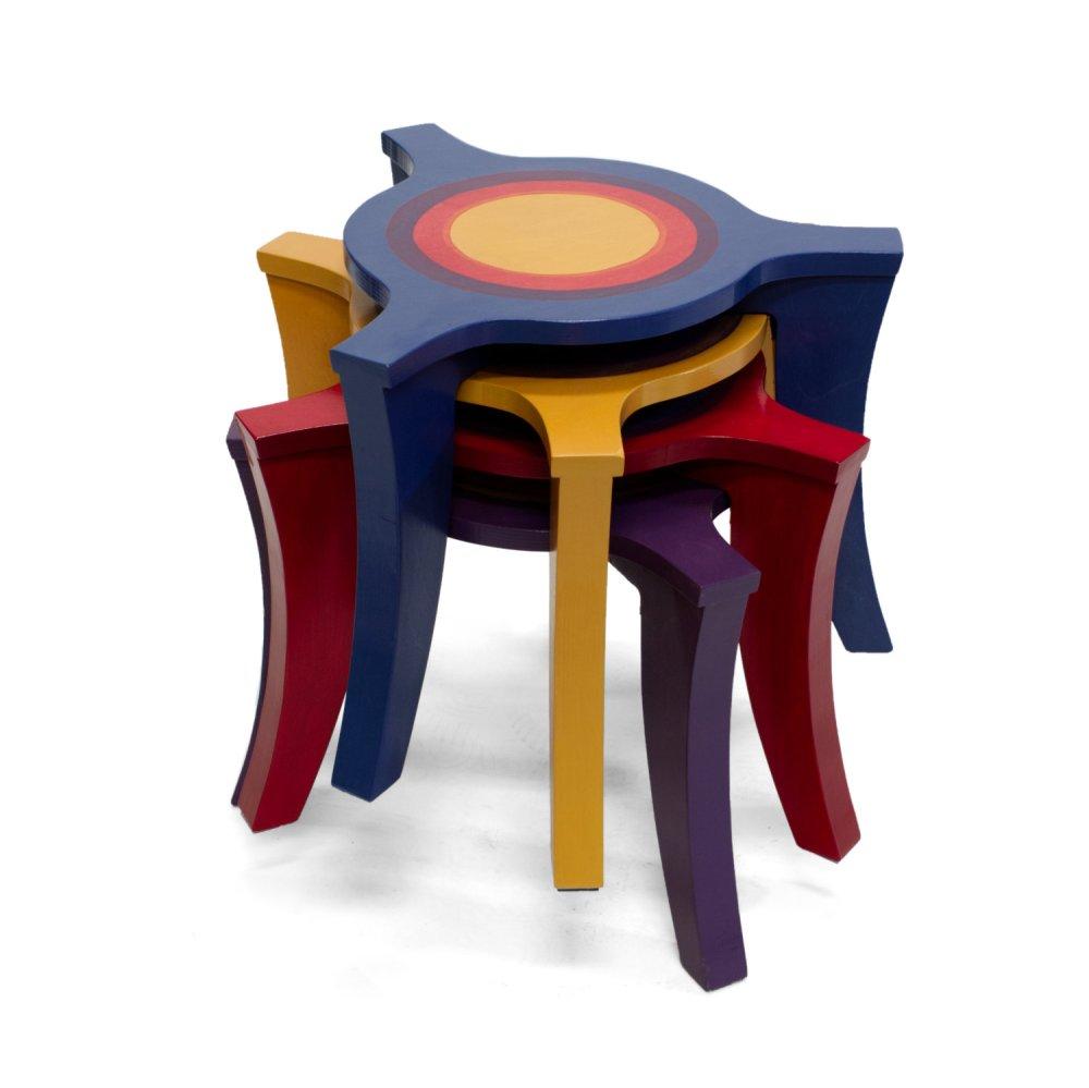 Stapel salontafels
