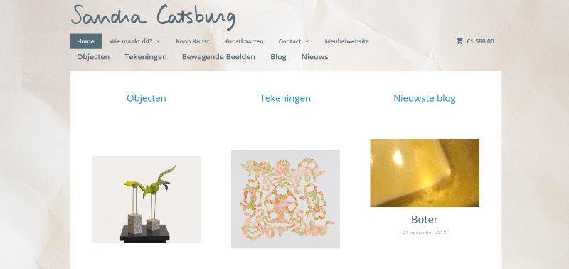 Website voor Beeldende Kunst